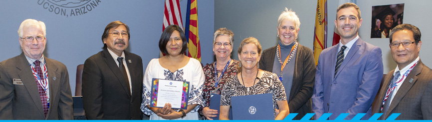 PCC Board of Governors recognition
