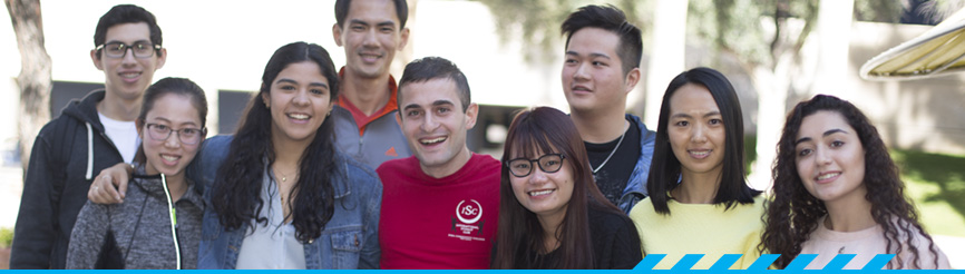 Group of PCC international students